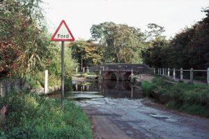 1969_10_08 Ford near Trittiford Mill Pool, Birmingham (UK)