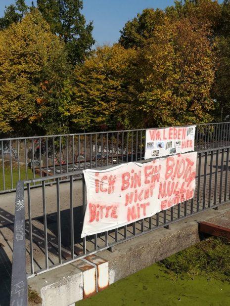 2018 Diebsteichbrücke: Selbsthilfe