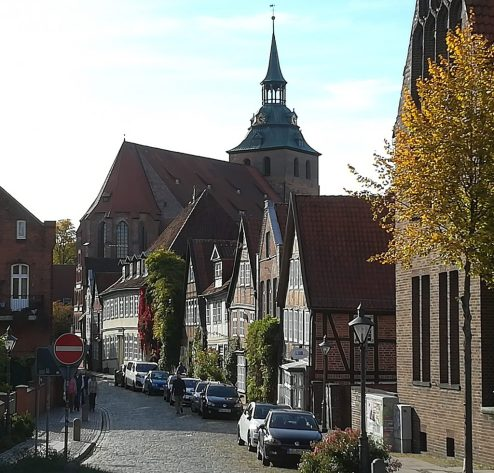 2018_10_07 Auf dem Meere, Lüneburg
