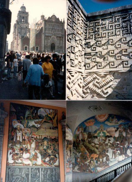 1986_12 Mexico City und Mitla