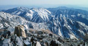 1986_03_26 Von Telescope Peak (CA) Blick nach S