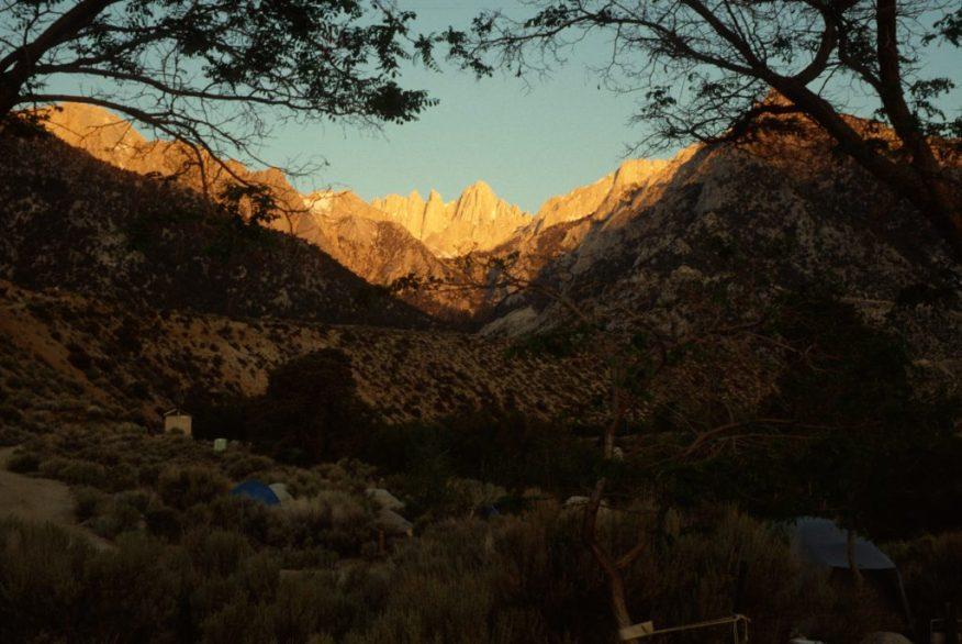1988_05_29ca Mt Whitney (CA) base camp