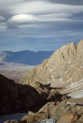 1988_05_29ca Mt Whitney The cloud