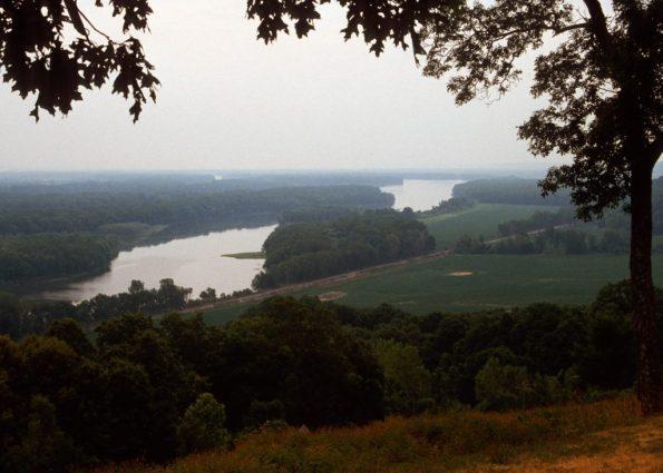 1988_07_09 Mississippi River, nach Süden