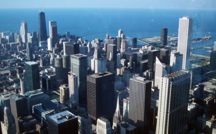 1988_07_23 Chicago von Sears Tower nach Norden