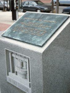 1988_11_13 Boston (MA), Birthplace of the telephone