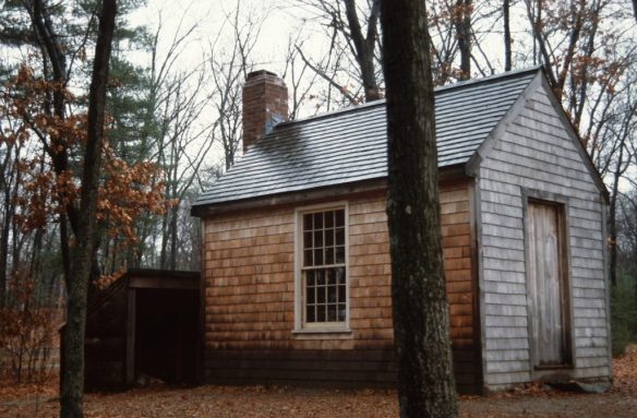 1988_11_17 Concord, Replica of Thoreau's cabin