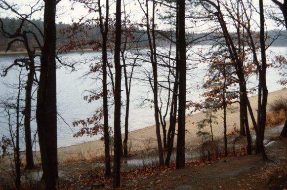 1988_11_17 Walden Pond, bei Concord (MA)