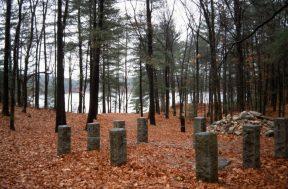 1988_11_17 AK 07 Thoreau house site, Walden Pond, bei Concord (MA)