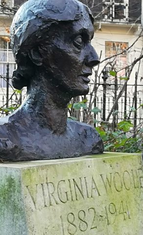 2018_12_28 Tavistock Square: Virginia Woolf