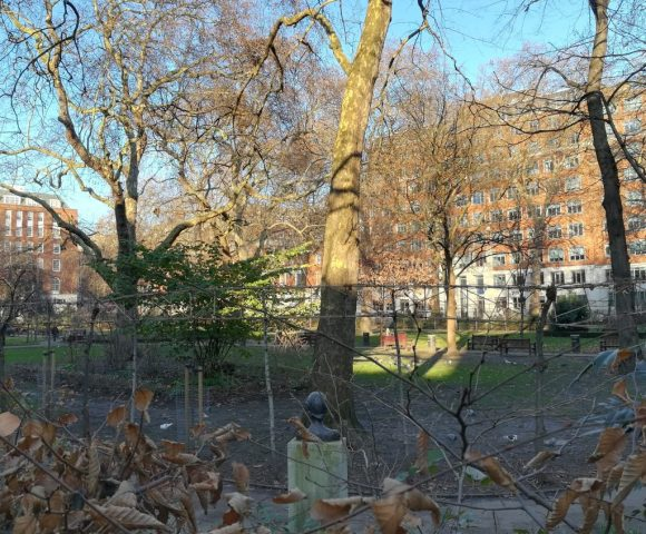 2018_12_28 Tavistock Square from Virginia Woolf's perspective