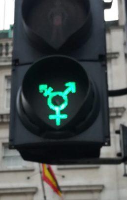 2018_12_29 London (UK): traffic signal