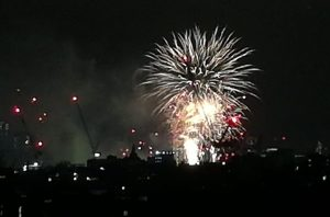 2019_01_01 London (UK): fireworks