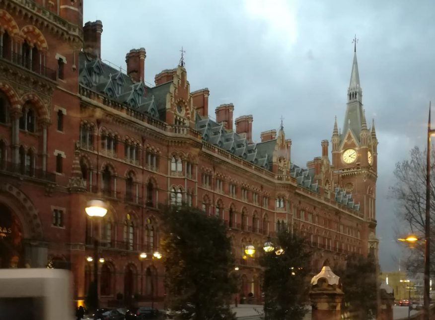 2019_01_01 London (UK): St Pancras station