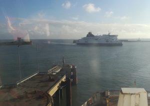 2019_01_03 Dover (UK), ferry port