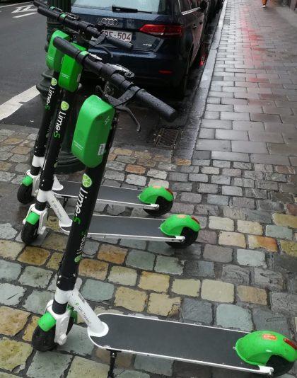 2019_01_04 Bruxelles: Les trottinettes électriques