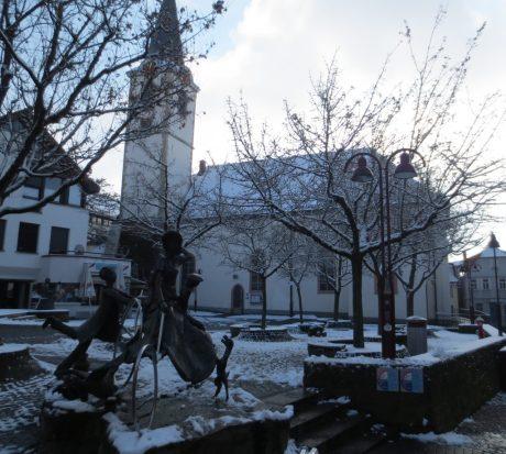 2013_02_09 Wiesloch, Evangelische Stadtkirche