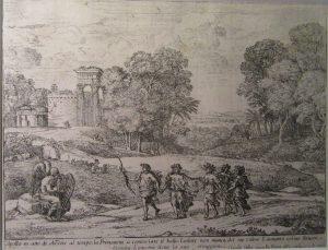 Le Temps, Apollon et les Saisons. Claude Lorrain 1662