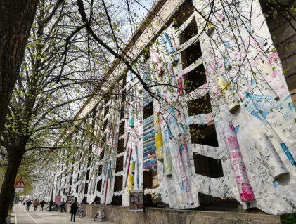 2019_04_09 München Haus der Kunst El Anatsui