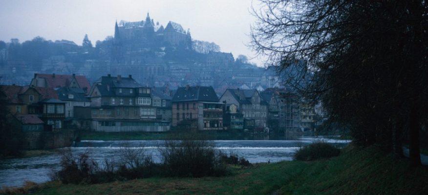 1966_11_20 Marburg, Schloss & Lahn