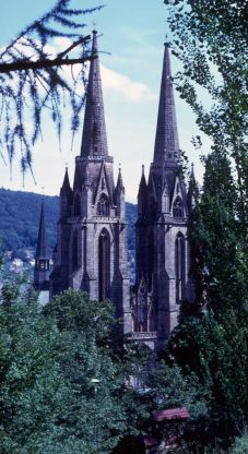 1967_08_06 Marburg Elisabeth-Kirche