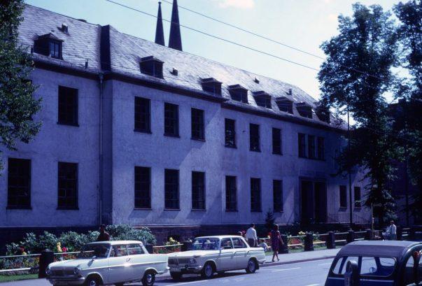 1967_08_06 Marburg Bahnhofstr Organische Chemie