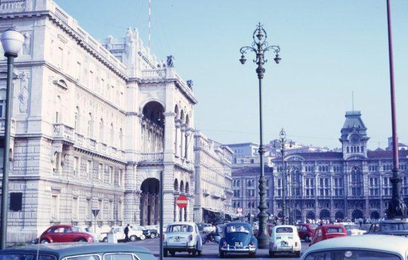 1967_09_25 Triest (I), Piazza dell'Unita mit Gouverneurspalast u Rathaus