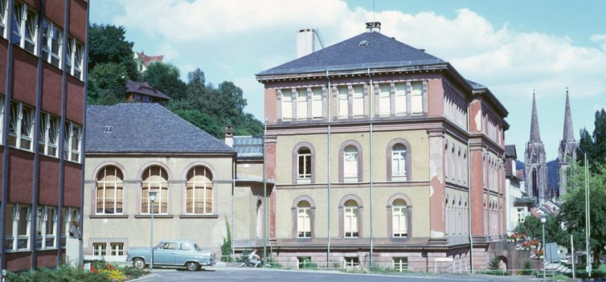 1967_08_06 Marburg, Ketzerbach: Zoologisches Institut