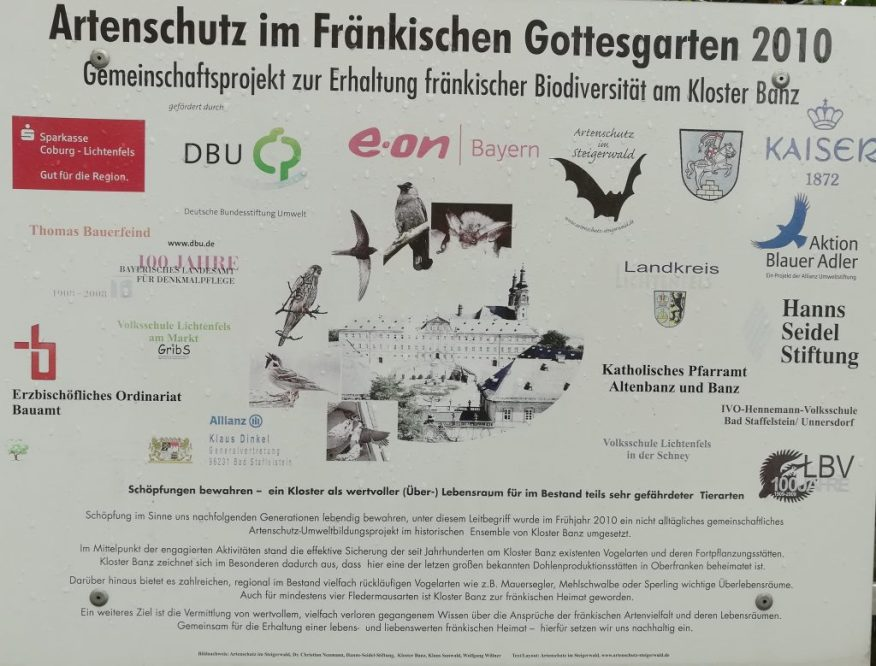 2019_05_11 Kloster Banz Artenschutz