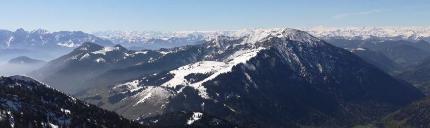 2019_05_17 Vom Wendelstein: Kaisergebirge, Hohe Tauern & Venediger-Gruppe