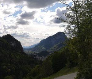 2019_05_18 Aus dem Kaisertal (A): Blick auf Kufstein mit Pendling