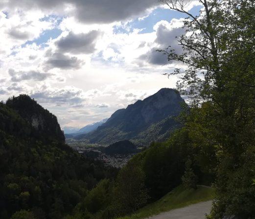 2019_05_18 Aus dem Kaisertal: Blick auf Kufstein mit Pendling