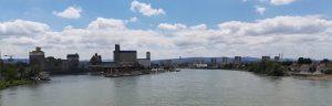 2019_06_23 Basel (CH) von Dreiländerbrücke aus