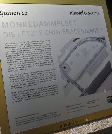 2019_07_20 Station 10 Mönkedammfleet / Die letzte Cholera-Epidemie