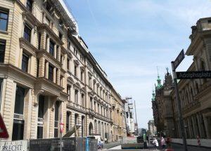 2019_07_20 HH Nikolai-Quartier: BID-Station 01 Rathaus 13 Alter Wall