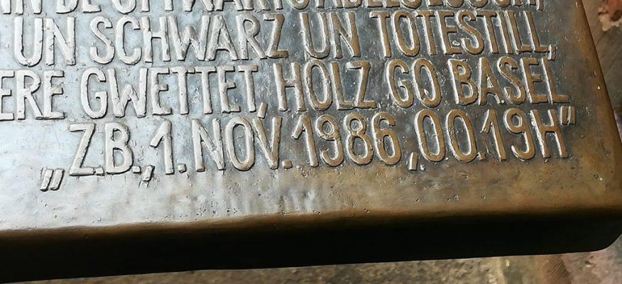 2019_06_23 Basel Bettina Eichin 1986 J.P.Hebel & Schweizerhalle