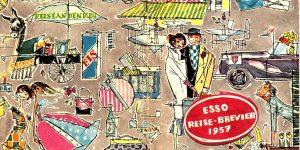 Reise-Brevier Esso 1957 Graphik Katja Hassler