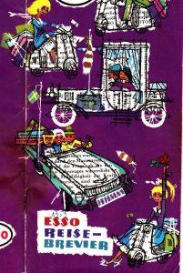Reise-Brevier Esso 1959 Graphik Katja Hassler
