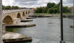 2019_09_07 Regensburg, Steinerne Brücke