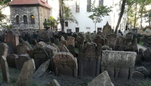 2019_09_04 Prag (CZ), Alter jüdischer Friedhof