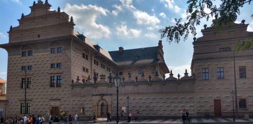 2019_09_05 Prag (CZ), Hradschin-Platz, Palais Schwarzenberg, Gastfoto AS