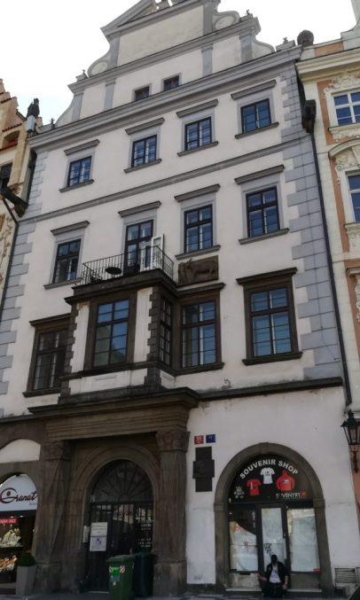 2019_09_06 Prag, Haus zum Einhorn