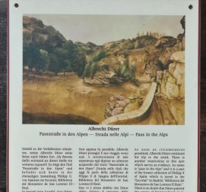 2019_09_15 Eisacktal (I): Dürer-Reise ca. 1496