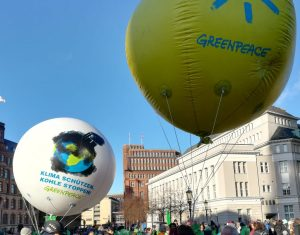 2019_11_29 Greenpeace, Hamburg, Fridays Klimastreik