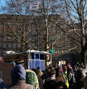 2019_11_29 Wasserpegel 2050, Hamburg, Fridays Klimastreik