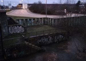 2020_01_10 Hamburg: Grasbrook, nahe Elbbrücke