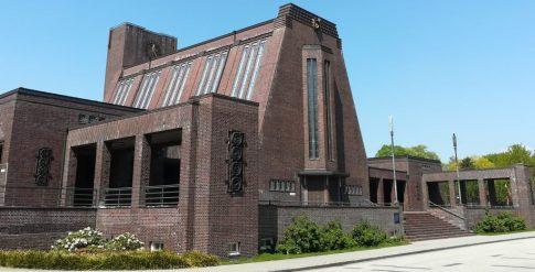 2020_05_09 Hamburg-Ohlsdorf Neues Krematorium