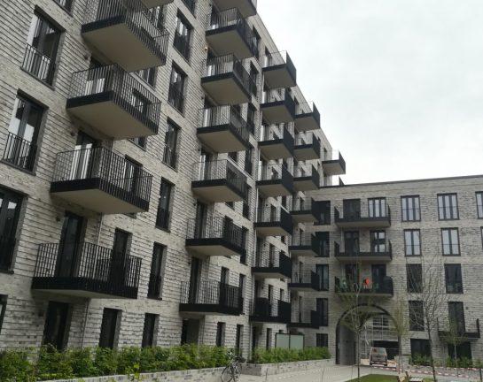 2020_05_18 Hamburg: Nördliches Pergolenviertel Baufeld 2a Innenhof