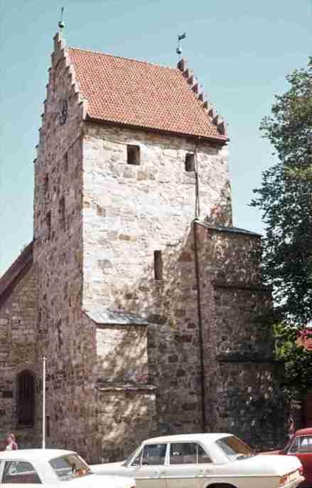 1976_08_12 Simrishamn (SE): St Nicolai kyrka