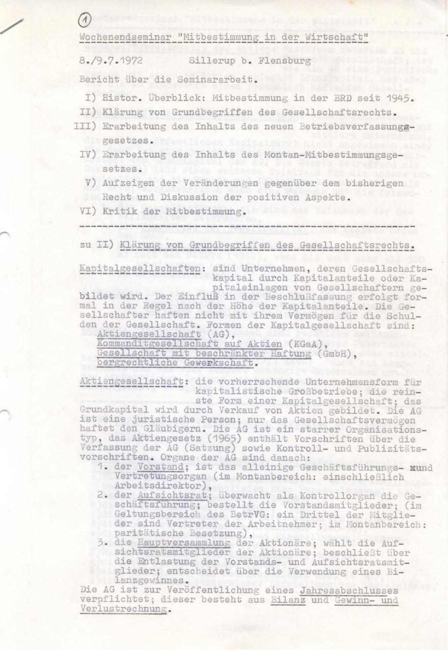 1972_07_08-09 Sillerup-Seminar Mitbestimmung